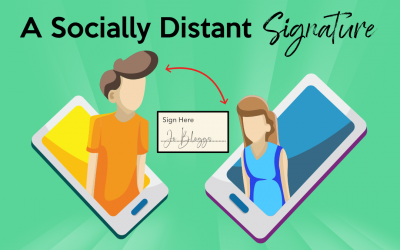 A Socially Distant Signature